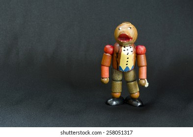 Hand-painted wooden toy