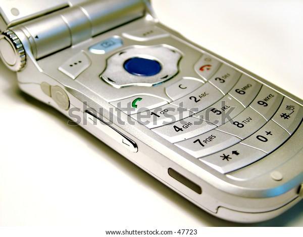 handphone buttons