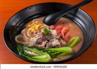 Hand-Pulled Noodle Soup with Beef