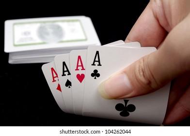 Hands poker?4A?