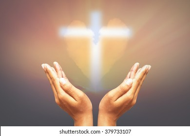 Hands, bless the cross in the sky heart.