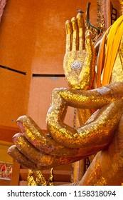 Hands of buddha