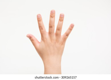 The hands of children No5