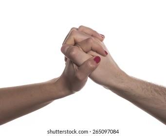 hands crossed