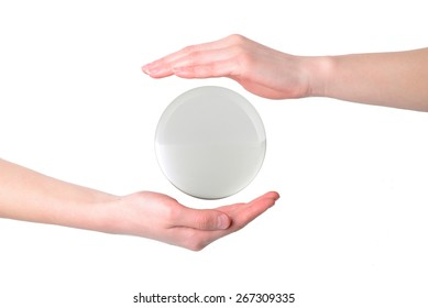 The hands of the crystal ball