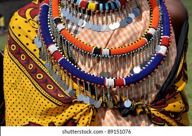 hands of an elderly Masai