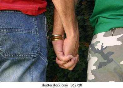 hands gay