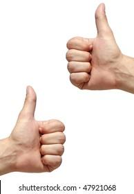 Hands with gesture No. 1
