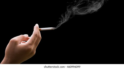 Hand Holding Cigarette Images, Stock Photos & Vectors | Shutterstock