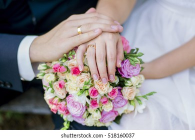 Hands husband and wife