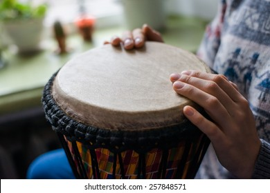 hands to play the drums