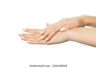 hands with slender graceful fingers
