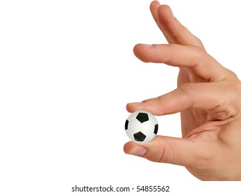 Hands With Soccer Ball