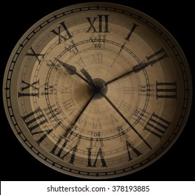 The hands of time - Ticking Clock