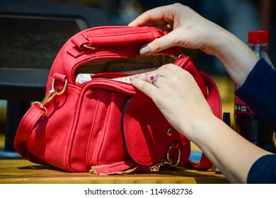 9371156a3d1 MILAN JANUARY 13 Man Red Gucci Stock Photo (Edit Now) 1011487549 ...