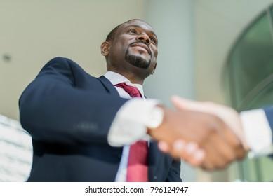 Handshake between managers