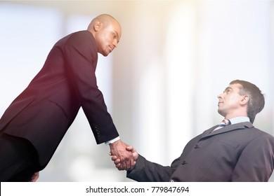 Handshake business teamwork