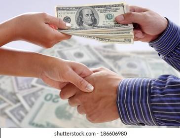Handshake exchange