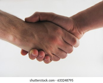 Handshake isolated.