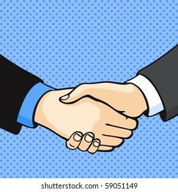 Handshake (raster version)