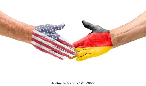Handshake USA and Germany