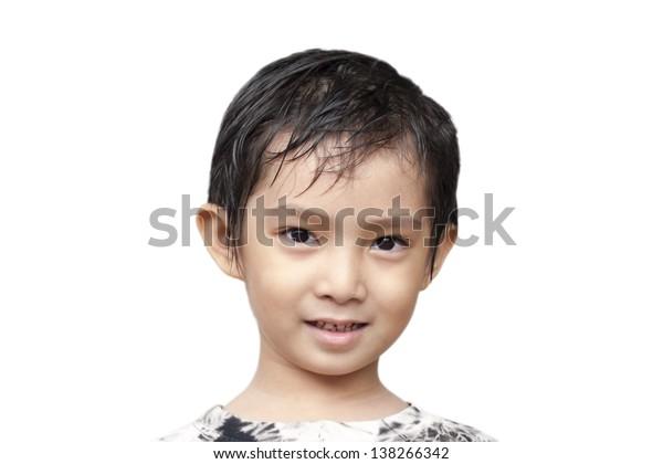 Handsome Asian Boy.