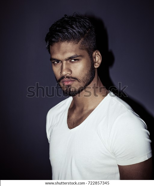 Handsome Attractive Indian Male Model Tight Stock Photo Edit Now