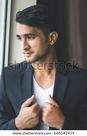Indian metrosexual male