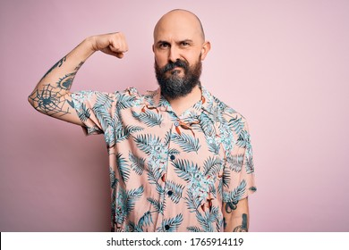 Men with tattoos bald Guys Are