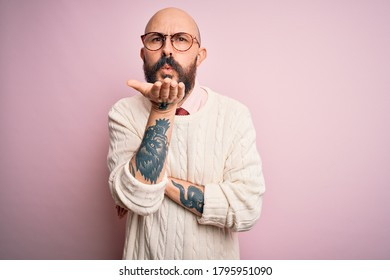 Men with tattoos bald Hair Tattoo