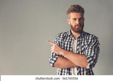 cute boys with beards