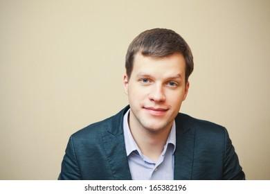 handsome business man