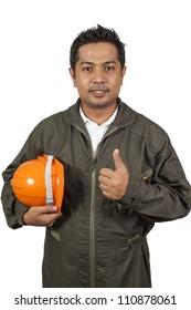 Handsome engineer