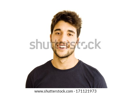 handsome guy with beard