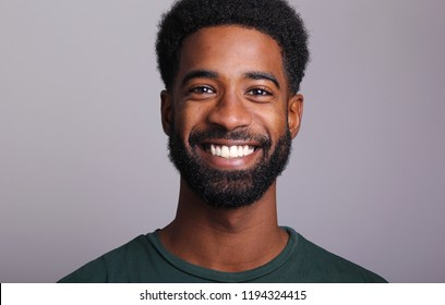 handsome man in front of a white background
