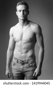 Handsome man with great body.