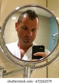 Bathroom selfies guy 🔥 food