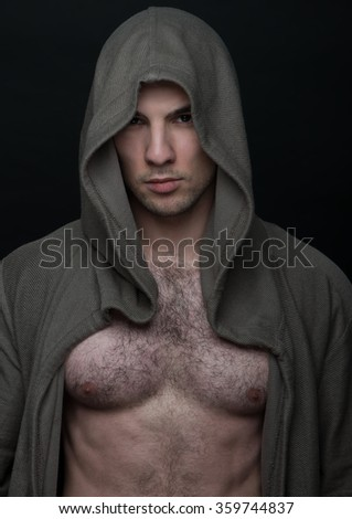 Amusing man hairy chest male models think, that