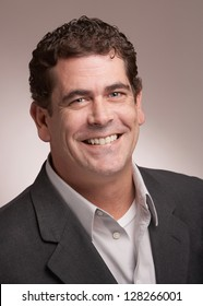 Handsome smiling business man portrait