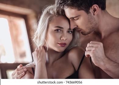 Sexy Black Men Kissing