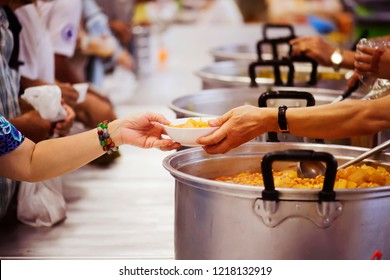 Hands-on food of the hungry is the hope of poverty : concept of homelessness