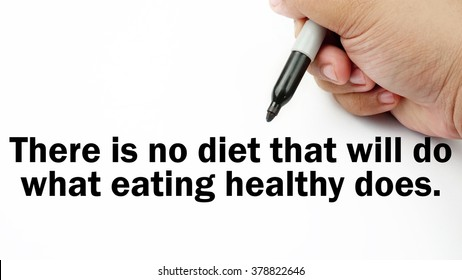 Healthy Eating Quote Images, Stock Photos & Vectors ...