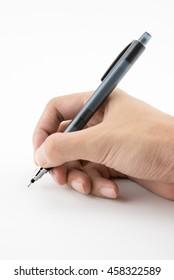 handwriting isolated
