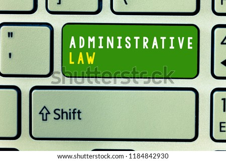 rule of law in administrative law