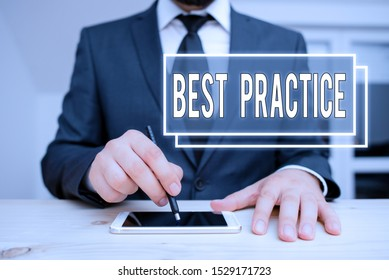 Handwriting text writing Best Practice. Concept meaning Method Systematic Touchstone Guidelines Framework Ethic.