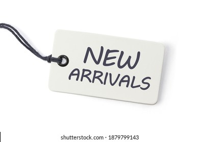 Handwriting text writing New Arrivals. Concept meaning the introduction of something new such as a product or service