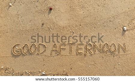 good words to describe the beach