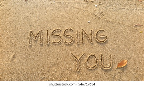 Miss You Beach Images Stock Photos Vectors Shutterstock