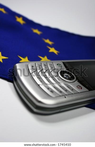 handy on european flag