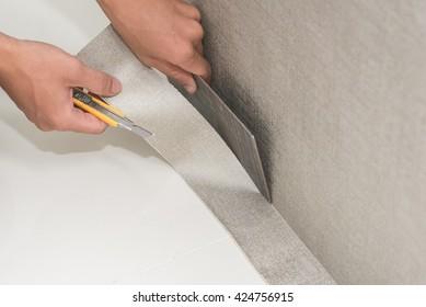 Wallpaper Installer Images Stock Photos Vectors Shutterstock